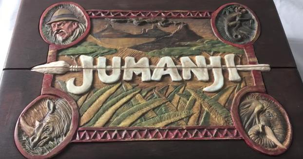 Construye la caja de Jumanji desde 0