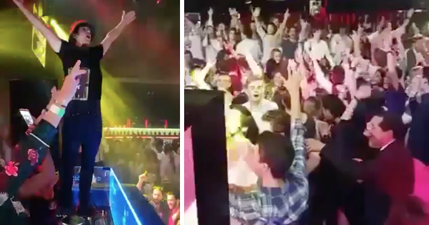 El DJ de la discoteca Pachá de Madrid pone el Himno Nacional en mitad de la noche por la unidad de España