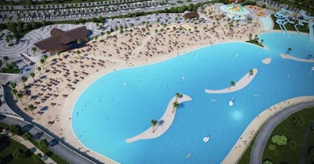 Así será Alovera Beach, la playa urbana más grande de Europa que estará a 50 km de Madrid