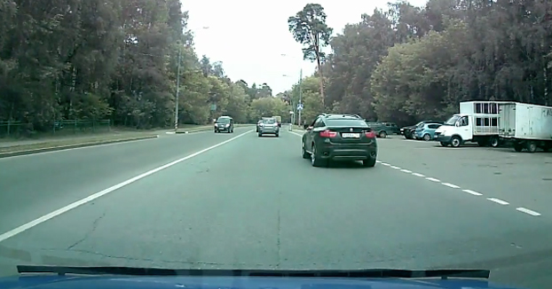 Karma instantáneo para un conductor impaciente