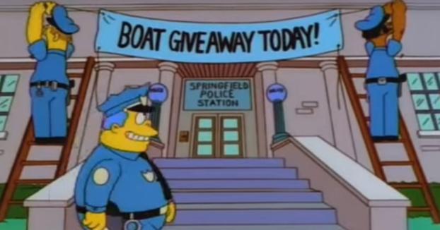La Policía de Reino Unido consigue detener a 21 delincuentes con un método usado en Los Simpson
