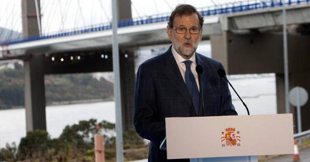 """Rajoy: """"Les deseo lo mejor para el próximo año 2016"""""""
