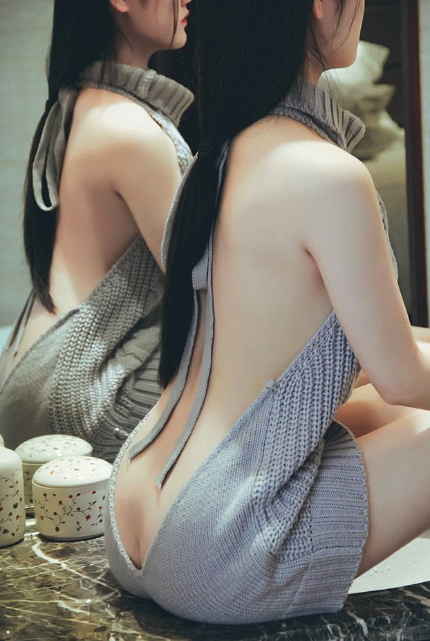 Virgin Killer, el jersey de lana sin mangas y sin espalda que arrasa en Japón