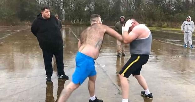 ''Hulk'' vs. ''Pie Grande'': La pelea clandestina de los 68.000 euros que se hizo viral (Vídeo)