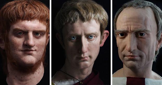 Salva Ruano, el artista español que da vida a famosos emperadores romanos a través de sus esculturas hiperrealistas