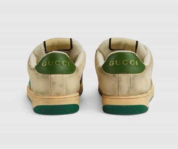 Gucci lanza unas deportivas que dan la impresión de estar sucias y usadas por 690 euros