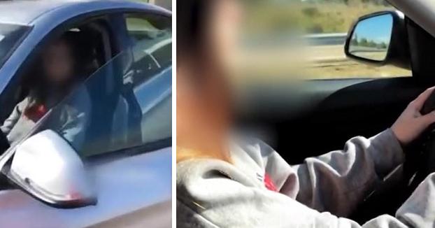 La Policía Nacional detiene a una menor por conducir a más de 220 km/h mientras era grabada por su acompañante