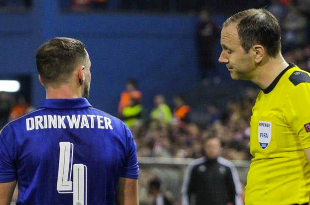 El jugador del Chelsea Drinkwater, detenido tras un accidente por conducir borracho