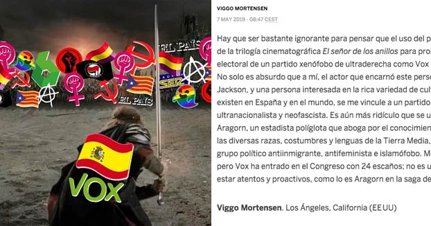 Resultado de imagen de carta al director viggo mortensen