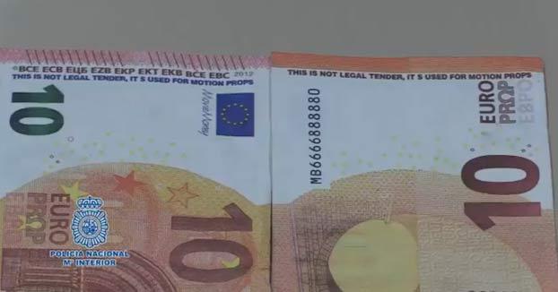 La Policía Nacional alerta por la aparición de billetes falsos de películas y anuncios en toda España: Así puedes reconocerlos